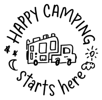 Happy camping Starts Here